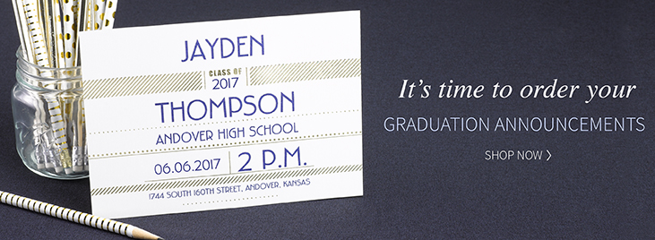 Graduation Site Section Banner
